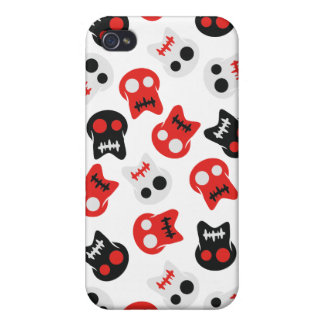Comic Skull colorful pattern iPhone 4/4S Cover