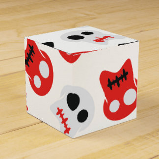 Comic Skull colorful pattern Party Favour Box