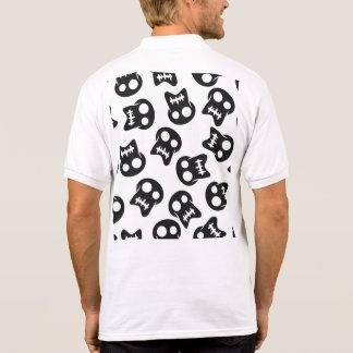 Comic Skull colorful pattern Polo Shirt