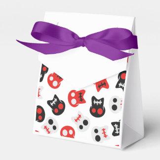 Comic Skull colorful pattern Wedding Favour Box