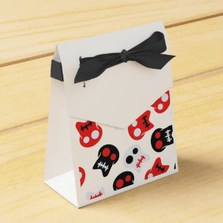 Comic Skull colorful pattern Wedding Favour Boxes