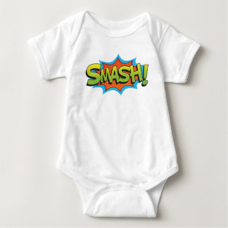 Comic Smash! Baby Bodysuit