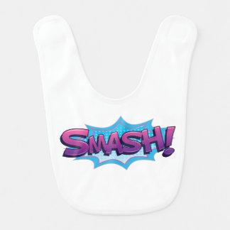 Comic Smash! Bib