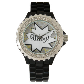 Comic Strip Bling! Wrist Watch