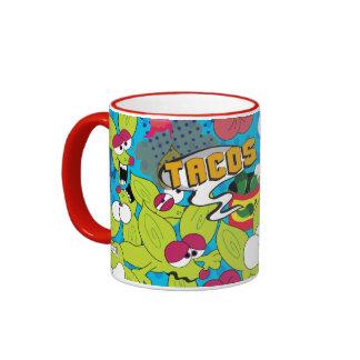 comic style Chico Chihuahua mug