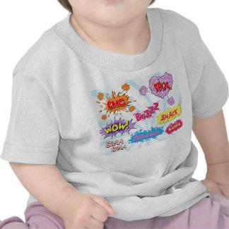 Comic Style Girly Super Hero Design Shirt
