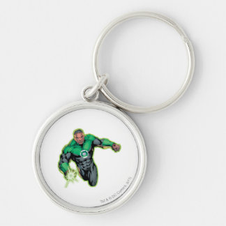 Comic Style - Green Lantern Keychain