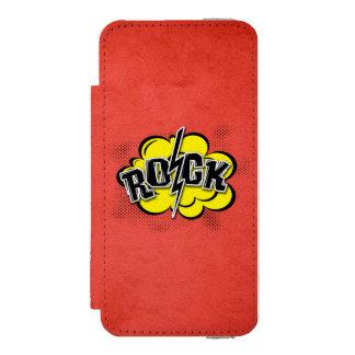 Comic style rock illustration incipio watson™ iPhone 5 wallet case