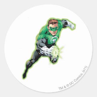 Comic Style - Swift Jump Round Sticker