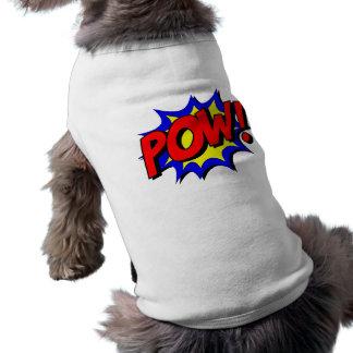 """Comic Superhero """"POW"""" Punch Shirt"""