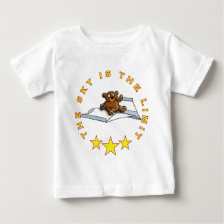 comic teddy bear on PAPER flat Baby T-Shirt