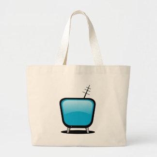 Comic TV Large Tote Bag