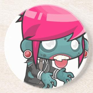 Comic Woman Zombie Coaster