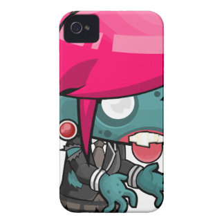 Comic Woman Zombie iPhone 4 Cover