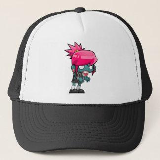 Comic Woman Zombie Trucker Hat