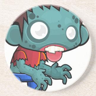 Comic Zombie Boy Coaster