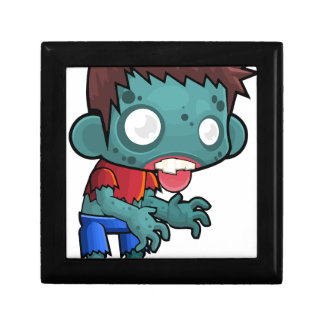 Comic Zombie Boy Gift Box