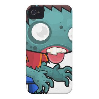 Comic Zombie Boy iPhone 4 Case-Mate Case