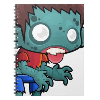 Comic Zombie Boy Notebook