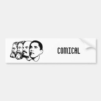 COMICAL bumper sticker