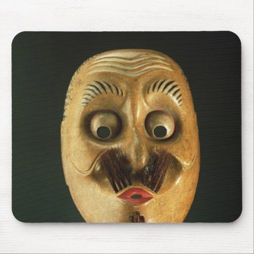 Comical Mask, Noh Theatre Mousepad