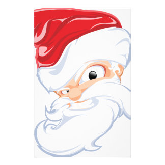 Comical Santa Claus Stationery