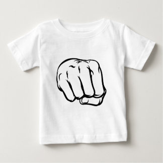 Comicbook Style Fist Baby T-Shirt