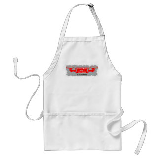 COMING AND GOING STANDARD APRON