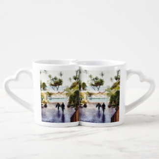Coming back from the beach lovers mugs
