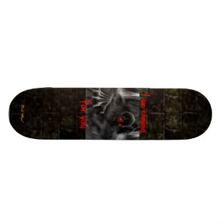 Coming for you 19.7 cm skateboard deck