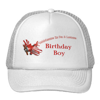 Coming In For Landing Airplane Birthday Trucker Hat