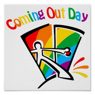 Coming out day poster
