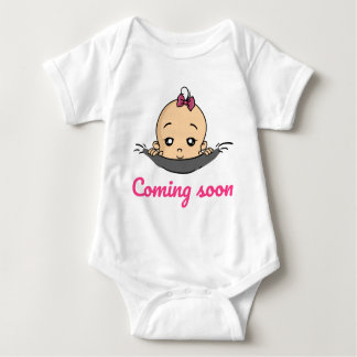 Coming soon baby baby pregnancy baby bodysuit