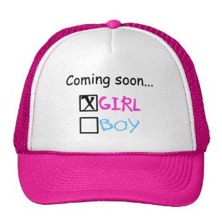 Coming Soon, Girl Cap