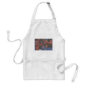 Coming to bloom by Paul Klee Standard Apron