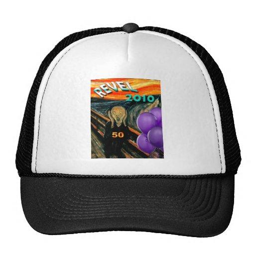 Comis Scream 50th Birthday Trucker Hat