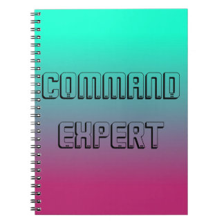 Command Expert Notebook for Gamers