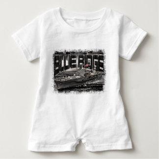 Command ship Blue Ridge Baby Romper T-Shirt
