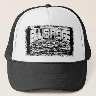 Command ship Blue Ridge Trucker Hat Trucker Hat