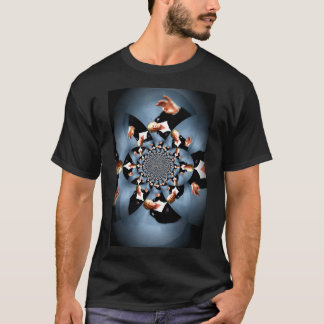 Commander in Chief Kaleidoscope Vertical T-Shirt