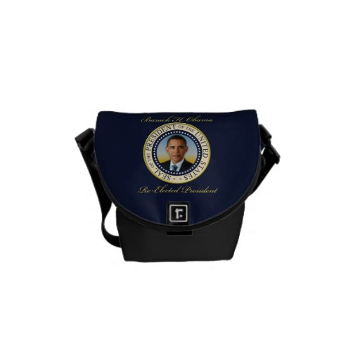 Commemorative President Barack Obama Re-Election Courier Bags