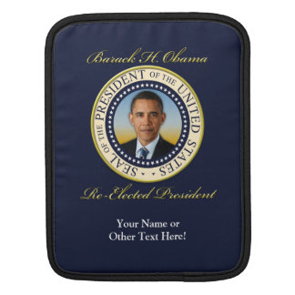 Commemorative President Barack Obama Re-Election Sleeves For iPads