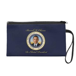 Commemorative President Barack Obama Re-Election Wristlet Purses