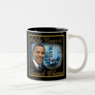 Commemorative President Obama Re-election Mug