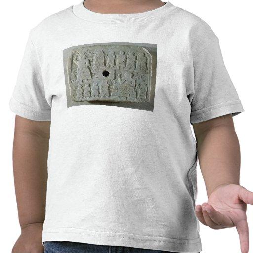 Commemorative relief tshirt