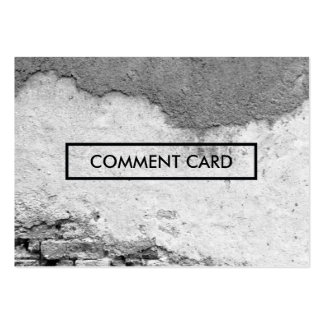 comment card city wall business card templates