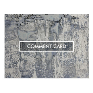 comment card crispy texture