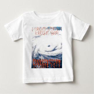 Commerative I survied Hurricane Sandy Frankenstorm Baby T-Shirt