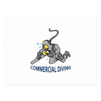 Commercial Diving Postcard
