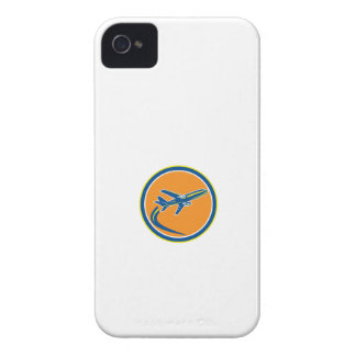 Commercial Jet Plane Airline Flying Retro iPhone 4 Case-Mate Cases